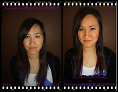 Before & After PURPLES With #MARYKAY