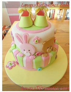 Kid Cake #Cake #BabyShower #FirstBirthday #Fondant