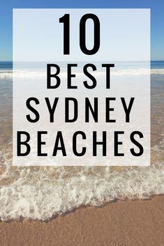 The 10 Best Sydney Beaches | One Chel of an Adventure's favorite Sydney beaches