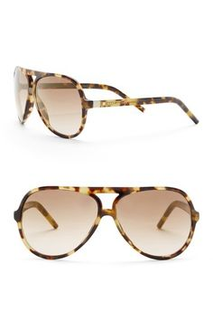 11c14192680 Image of Marc Jacobs Women s 60mm Aviator Sunglasses Nordstrom Rack