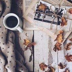 Image de autumn, coffee, and fall @louxse