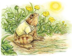 Beatrix-ish Frog 2 by ~MariSinclair on deviantART