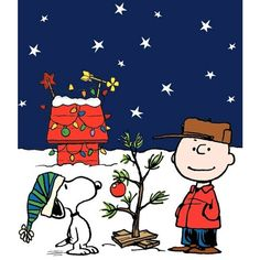 Snoopy & Charlie Brown Christmas Tree