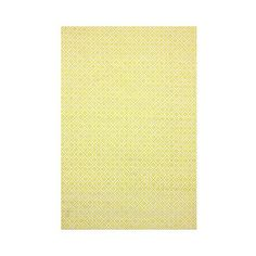 nuLOOM Cotton Hand Loomed Diamonds Cotton Trellis Area Rug (€100) ❤ liked on Polyvore featuring home, rugs, yellow, hand woven rugs, texture mat, diamond pattern rug, trellis pattern rug and yellow pattern rug