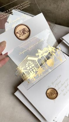 Acrylic Wedding Invitations, Destination Wedding Invitations, Unique Wedding Invitations, Elegant Invitations, Wedding Invitation Cards, Invitation Design, Wedding Stationery, Wedding Cards, Diy Wedding