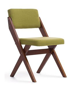 Desk Chair European Solid Wood Dining Simple Back Rest Wooden Office