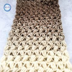 Coffee Bean Infinity Crochet Scarf with Free Pattern | Pattern Center Crochet Scarf Easy, Crochet Video, Crochet Beanie, Crochet Scarves, Crochet Shawl, Crochet Yarn, Free Crochet, Crochet Granny, Free Knitting