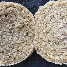 banana flour, flax egg, oat milk ghee? Green Banana Flour, Mugcake Recipe, Bread Replacement, Mug N Bun, Gluten Free Buns, Pancake Stack, Create A Recipe, Flour Recipes, Food Print