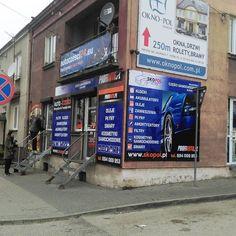 Brending sklepu Skopol w Pińczowie #projektgraficzny #graphicdesign #reklamanalokalu #headofficeadvert #profiauto #skopol #mgraphics #pinczow #buskozdroj www.mgraphics.eu