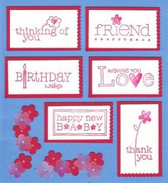 Index Card for For a Friend by galleryindex - Cards and Paper Crafts at Splitcoaststampers