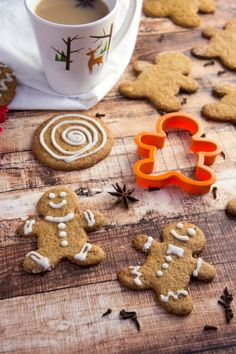 Grain-Free Gingerbread Men — Foraged Dish