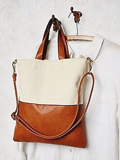 Two Tone Leather And White Canvas Bag Vegan Handbags Fashion Shoes
