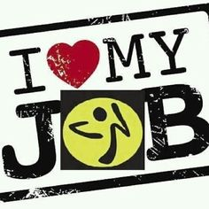 Love is...being a Zumba Instructor!