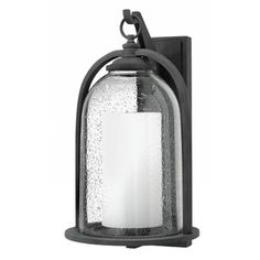 Hinkley H2618DZ Quincy Entrance Outdoor Wall Light - Aged Zinc
