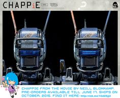 CHAPPiE the robot is here! Don't miss him! - A Rinkya Blog
