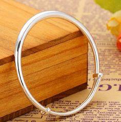 925 sterling silver jewelry Sliding bracelet