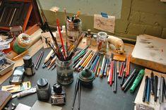 Anna Schuleit-Harrisville Studio-by Michelle Aldredge