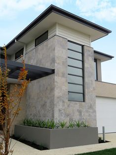 The Silver colour comes with a natural tumbled and unfilled finish to the stone, it look fantastic as a feature wall. Famously used by Watersun Homes and St Kilda Football club, applied externally to the house facade as an innovative new look that creates great curb appeal. One of the most enduring & sought after stones for flooring, wall tiles and paving in Australia. Can use internally & externally. DecoR Stone Quality Product