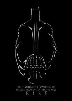 Dark Knight Rises poster.