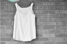 Flowy Summer Top from Cotton & Curls