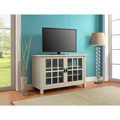 """Better Homes and Gardens Oxford Square TV Stand and Console for TVs up to 55"""", Multiple Colors"""