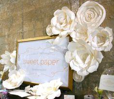 huge paper flower wall - Google Search