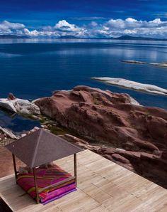 Landscape in Blue. Lago Titicaca, Peru. #kiwibemine #pinittowinit
