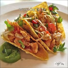 Applebees Wonton Taco copy cat recipe