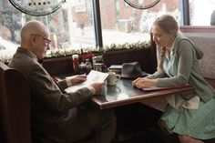 Alan Arkin and Amanda Seyfried in Love the Coopers