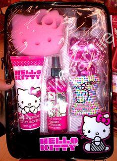 Hello kitty i so want this sooo badly yepper Hello Kitty Makeup, Hello Kitty Themes, Hello Kitty Nails, Sanrio Hello Kitty, Hello Kitty My Melody, Hello Kitty House, Miss Kitty, Hello Kitty Collection, Perfume