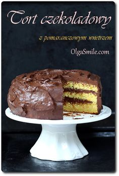 Tort czekoladowy Olgi Smile
