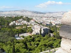 Aereopagus and Thission near Acropolis