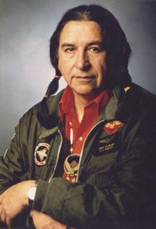"""Ed McGaa, author of works including """"Red Cloud - Biography of an Indian Chief"""", and """"Native Wisdom - Perceptions of the Natural Way""""."""