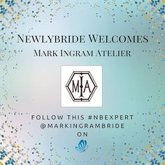 Words cannot express how honored we are to have @markingrambride as one of our Newlybride Experts! He is a bridal gown fashion guru and a wealth of knowledge when it comes to anything about style. Not to mention, his team is exceptional!  We adore you, Mark! 💕