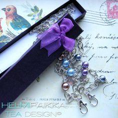 Tilaustyönä kulkukorttikoruja <3 #kulkukorttikoru #avainkaulanauha #lila #violetti