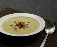 A soothing soup that's creamy, but dairy-free, made with nutrient-dense bone-broth and leeks