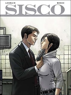 """Sisco"" 2 (2010) Cover di Thomas Legrain #Sisco #Polar #Lanciostory #EditorialeAurea #Benec #ThomasLegrain"