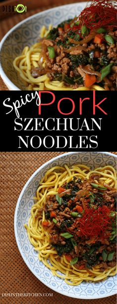 A quick and spicy ground pork stir fry, perfect for when that spicy noodle craving hits. Perfectly balanced flavours with sweetness, saltiness, umami and a nice kick of heat from Szechuan peppercorns and Korean gochugaru. Pork Stir Fry, Stir Fry Noodles, Pork Recipes, Pasta Recipes, Noodle Recipes, Recipes For Ground Pork, Dinner Recipes, Spicy Recipes, Delicious Recipes