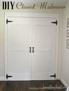 Closet Door Makeover Reveal! {Dremel Weekends}