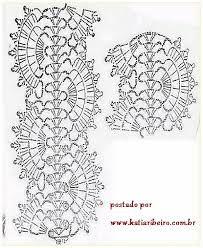 Resultado de imagem para receitas de pontos de croche de grampos