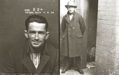 Funny pictures about Police Mugshots Used To Be Really Badass. Oh, and cool pics about Police Mugshots Used To Be Really Badass. Also, Police Mugshots Used To Be Really Badass photos. Old Pictures, Old Photos, Vintage Photographs, Vintage Photos, Public Enemies, Estilo Retro, Portraits, Roaring Twenties, Mug Shots