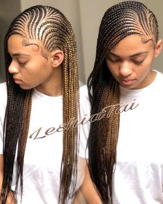 Head to the webpage to see more on types of braids Braided Hairstyles For Black Women Cornrows, French Braid Hairstyles, African Braids Hairstyles, Weave Hairstyles, Pretty Hairstyles, French Braids, Protective Hairstyles, Hairstyle Ideas, Black Girl Braids