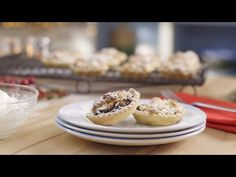 Mincemeat and Orange Tarts - Mary Berry - YouTube