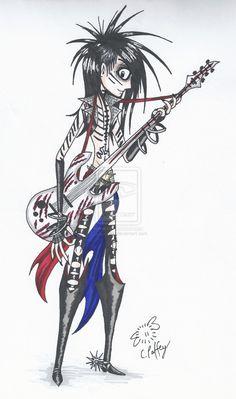 Ashley - Tim Burton style by erondagirl.deviantart.com on @deviantART