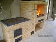 Финская плита 3А Brick Bbq, Barbacoa, Outdoor Cooking, Homesteading, Stove, Terrace, Garden Design, Kitchen Design, Pergola