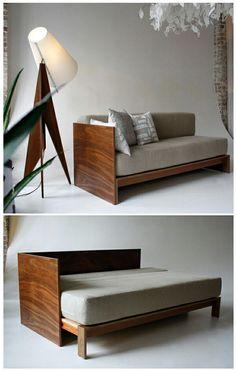 Resultado de imagen para cama convertida en sofa