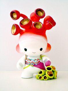 Mini Munny Mushroom Spirit