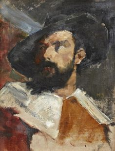 Helene Schjerfbeck, Portrait of a man