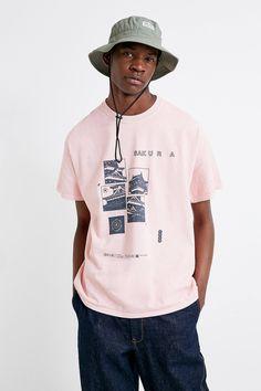151011654c3979 UO Sakura Pink T-Shirt | Urban Outfitters UK