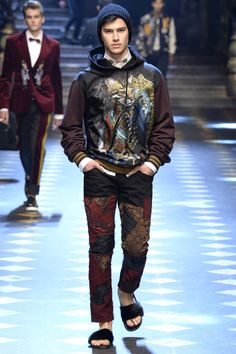 FCBTC / Dolce & Gabbana Fall 2017 Menswear Collection - Vogue